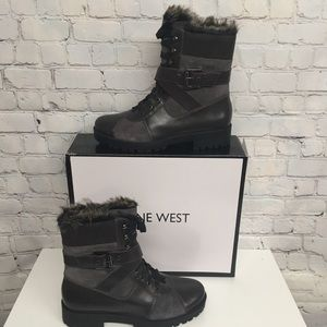 Nine West Women's Orithna Leather Boot SZ 10 M NEW